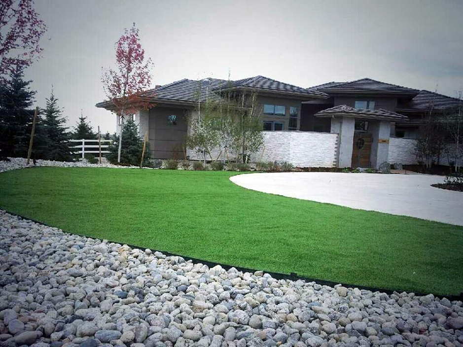 How To Install Artificial Grass Carthage Tennessee Lawn And Landscape Front Yard Landscape Ideas