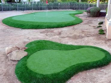 Artificial Grass Photos: How To Install Artificial Grass Monterey, Tennessee How To Build A Putting Green, Front Yard Ideas
