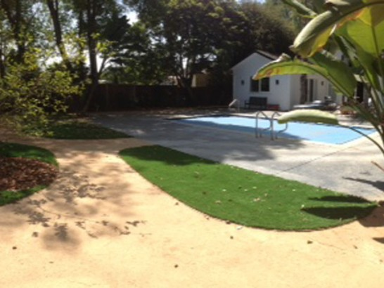 Artificial Grass Photos: Outdoor Carpet Harrogate, Tennessee Landscaping, Above Ground Swimming Pool
